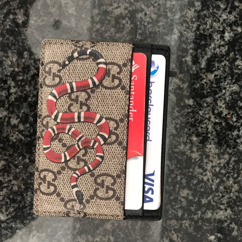 ecef2e58753 Gucci Snake card holder perfect condition. Message me - Depop