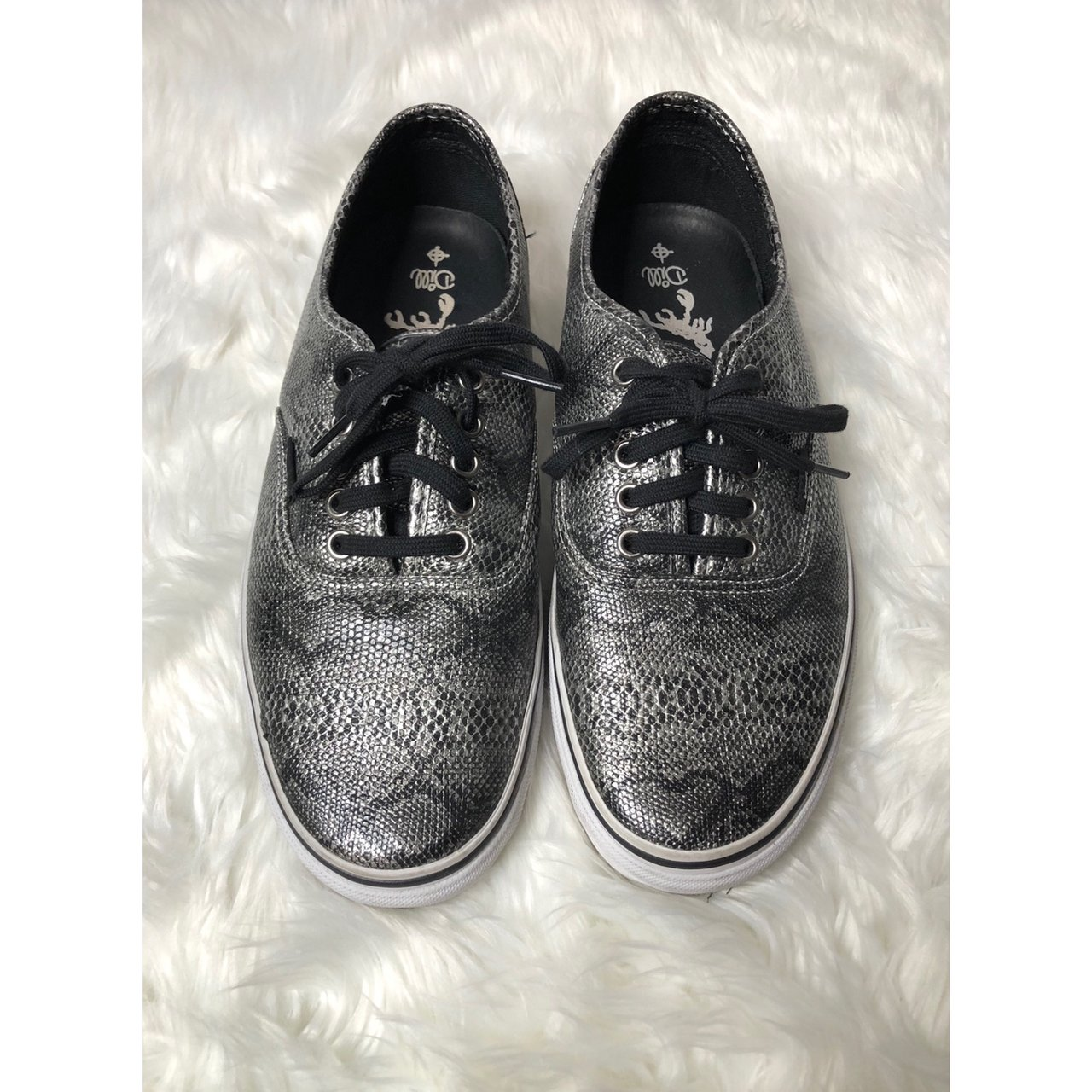 3e62f5e3a690ee Vans jason dill snakeskin shoes size o box any depop jpg 1280x1280 Jason  dill shoes