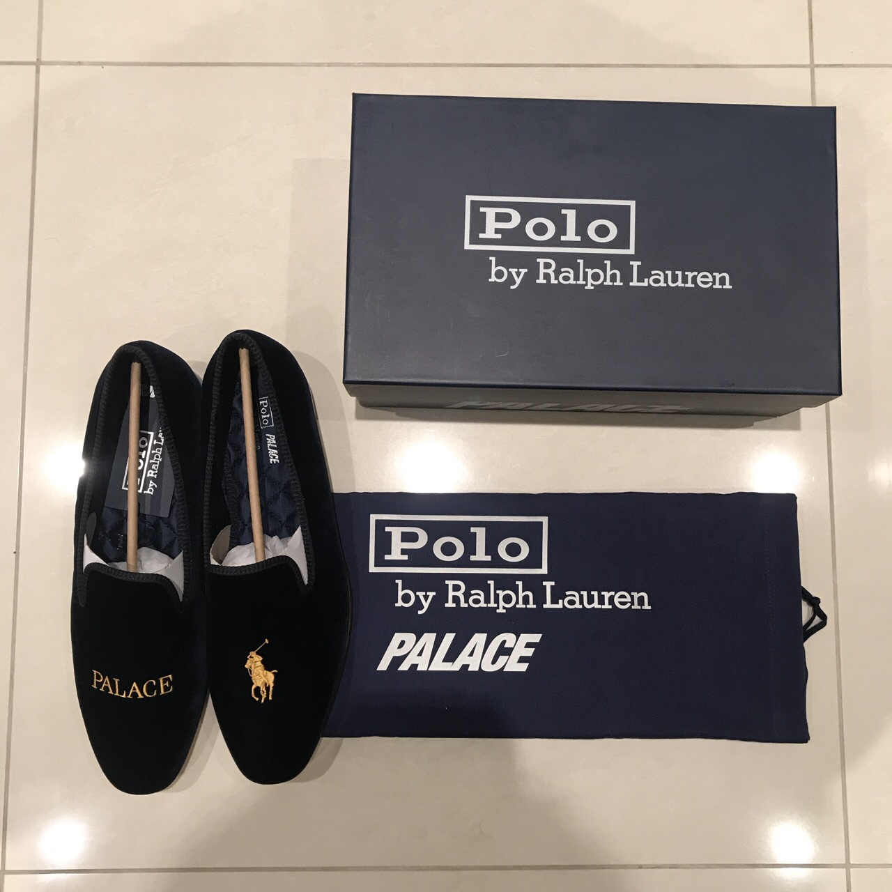 Palace Ralph Lauren formal loafers