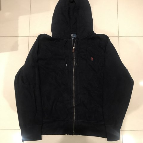 Sale Polo Ralph Lauren Zip Up Hoodie States Size A Depop