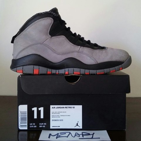 first rate c4721 507c8 Vendo Air Jordan 10