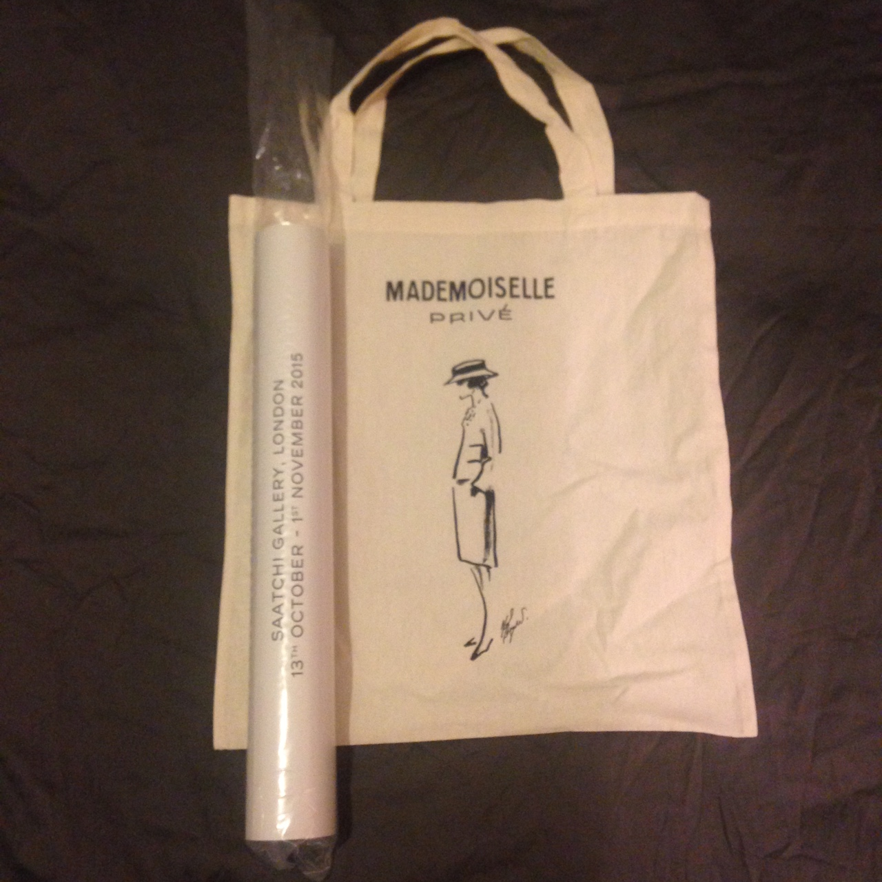 Mademoiselle PosterNew Privé And Depop Bag Tote 7yfgYb6