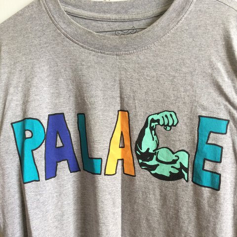 0817cfe8783f Palace strong arm muscle tee T-shirt