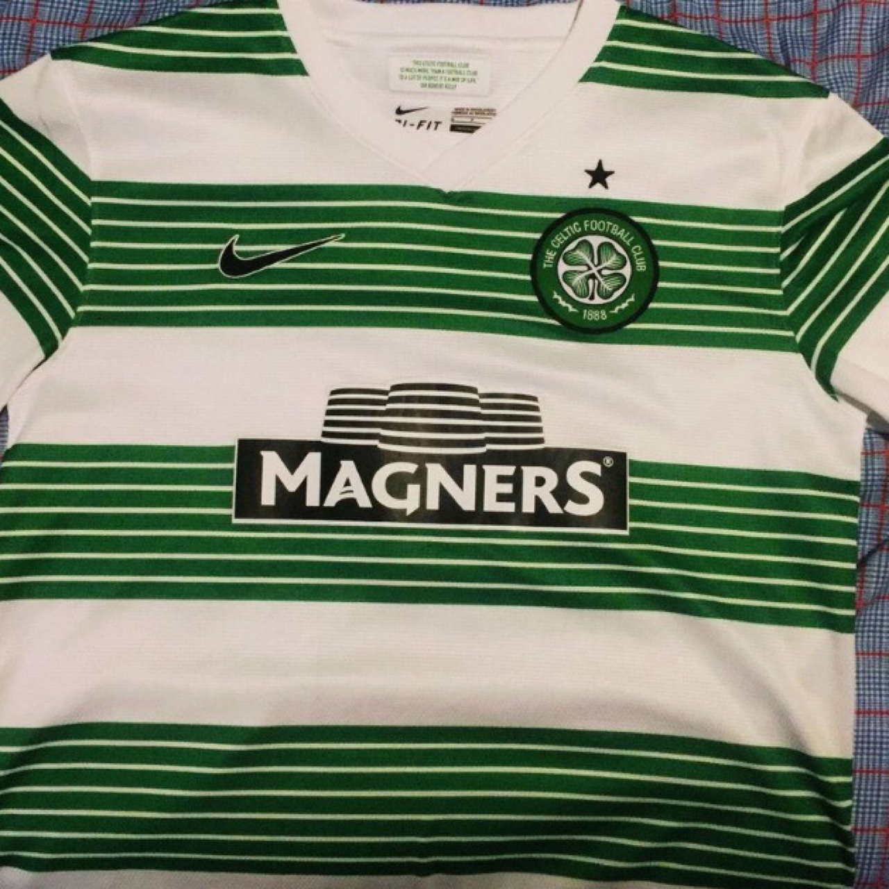 huge discount 92412 1a4a5 Nike Celtic F.C. Jersey. A1 condition 100%... - Depop