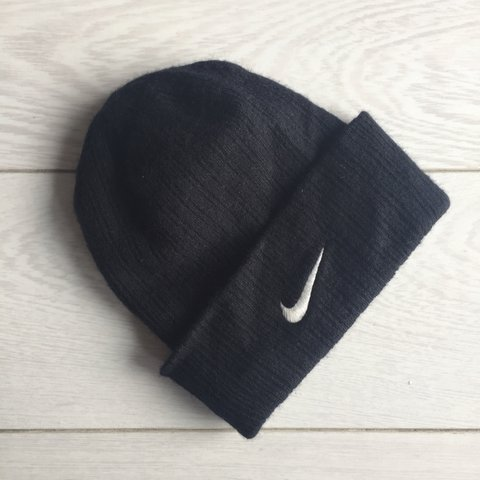 Nike beanie hat   on the small side better suited to girls   - Depop b5156f0b04b