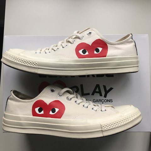 Comme des garcons CDG play converse low bfb819301