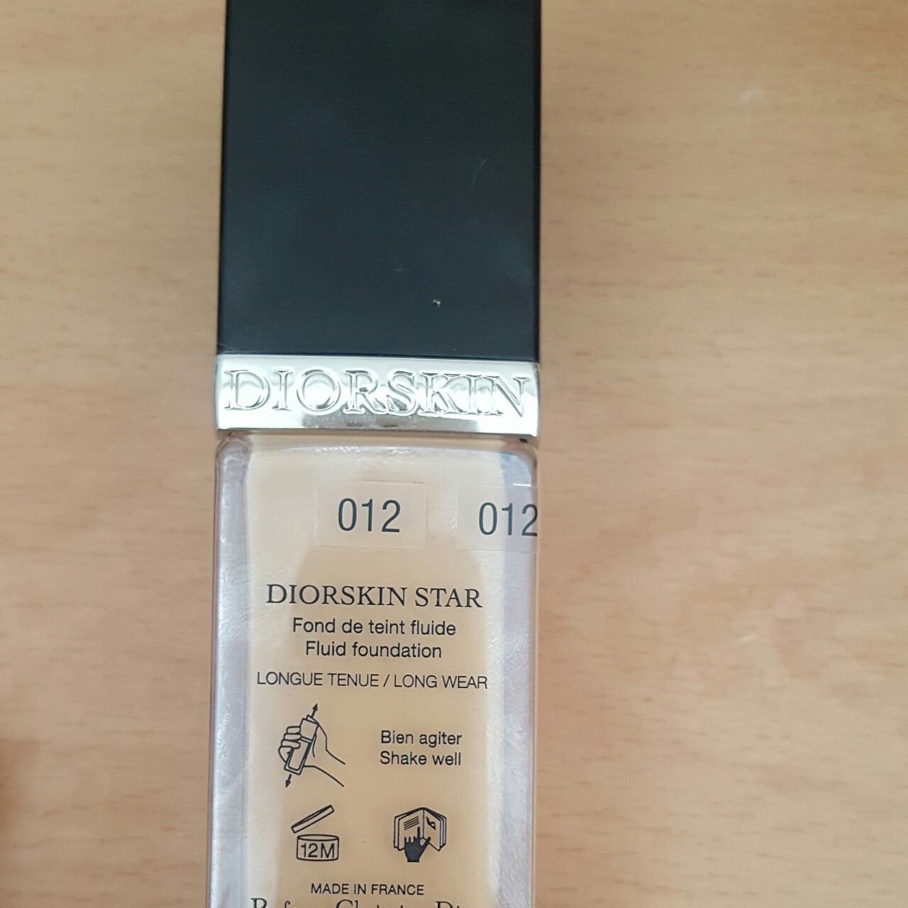 8de021d1 Dior star foundation shade 012. Only used one but... - Depop