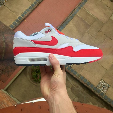 new style 2ad51 15edf  willrichardson2. last year. London, United Kingdom. Nike Air Max 1 OG Red  Brand New DeadStock DS Size UK 9.
