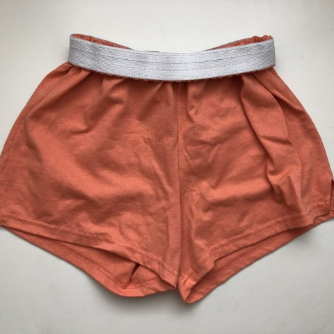 238d51a8ba @juliia17. 8 months ago. Holly Springs, United States. soffe high waisted  soft shorts in a cute peach color - never ...
