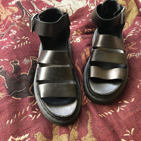 7073a8c71d3a Clarissa Doc Martens sandal size 4   So sad to see these go - Depop