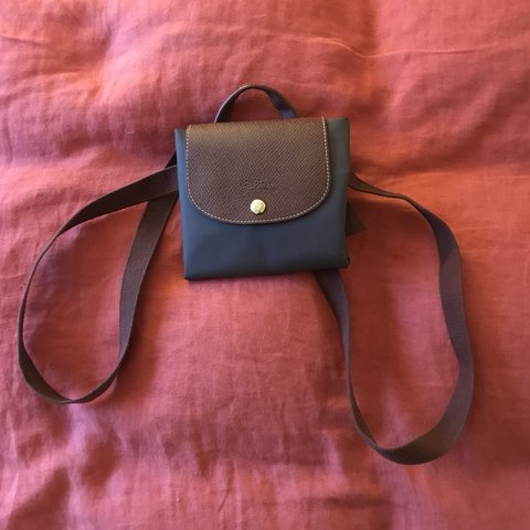 Genuine Longchamp mini backpack in brown - good condition 57a140d42b029