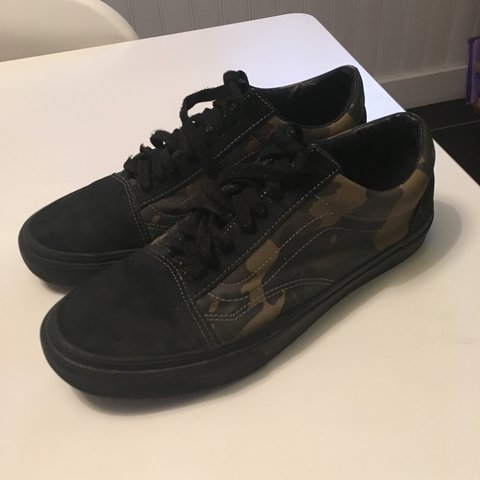 dd86bfa575112 @felix_hill. 2 years ago. Nottingham, UK. Supreme green camo vans. Really  good 8/10 condition despite ...