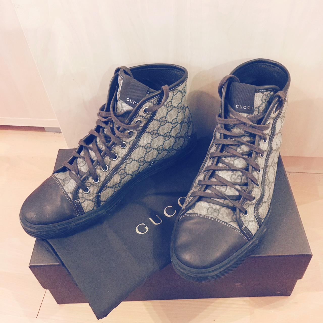 gucci trainers high top Shop Clothing