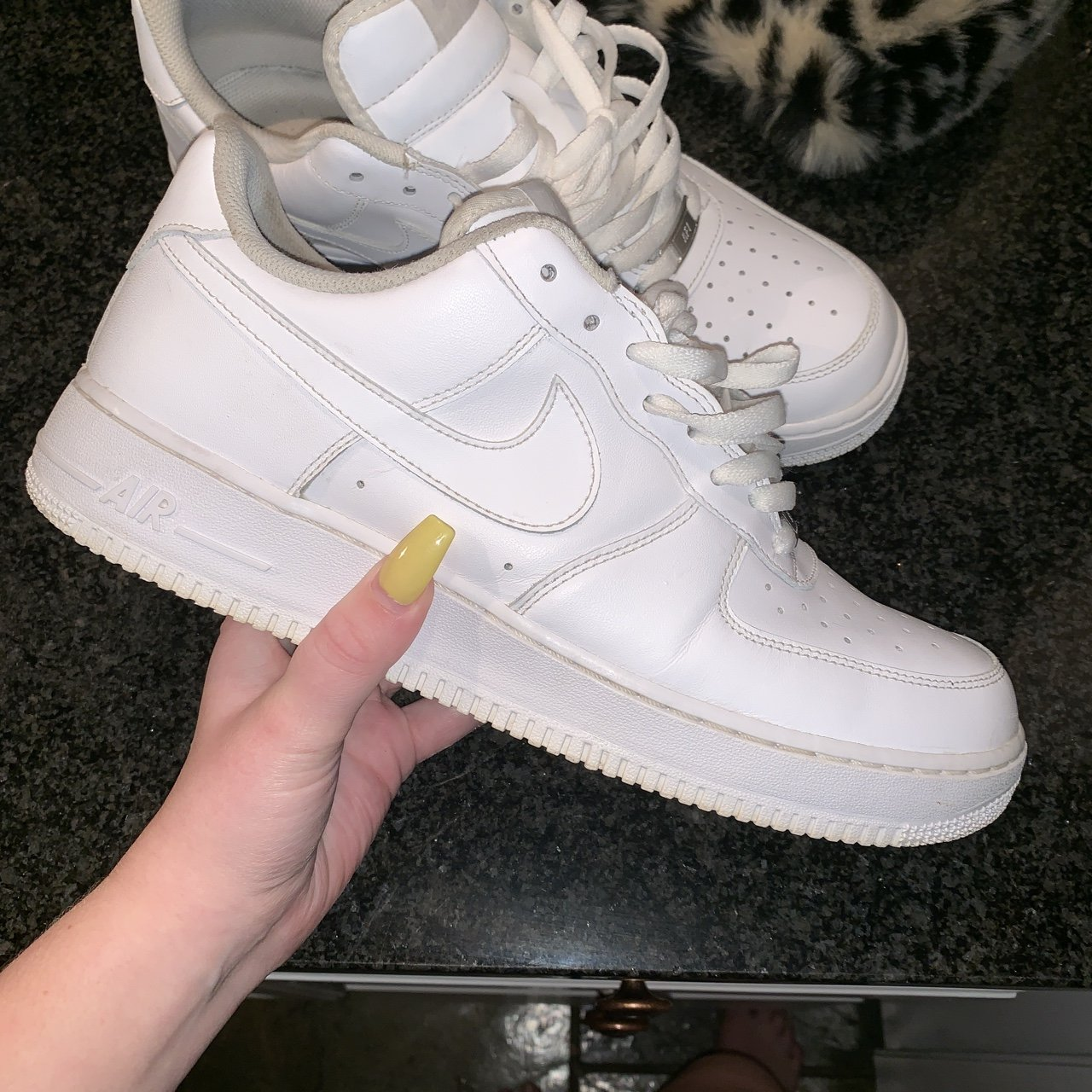 e58797c393bd Nike air force in great condition worn only a few times depop jpg 1280x1280 Emma  chamberlain