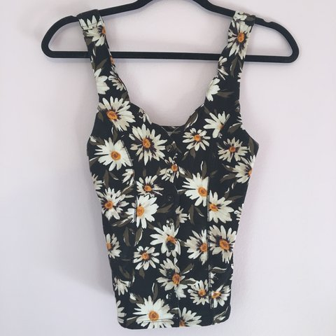 2c120e959e83 Sunflower print top from Urban Outfitters! Brand Kimchi Blue - Depop