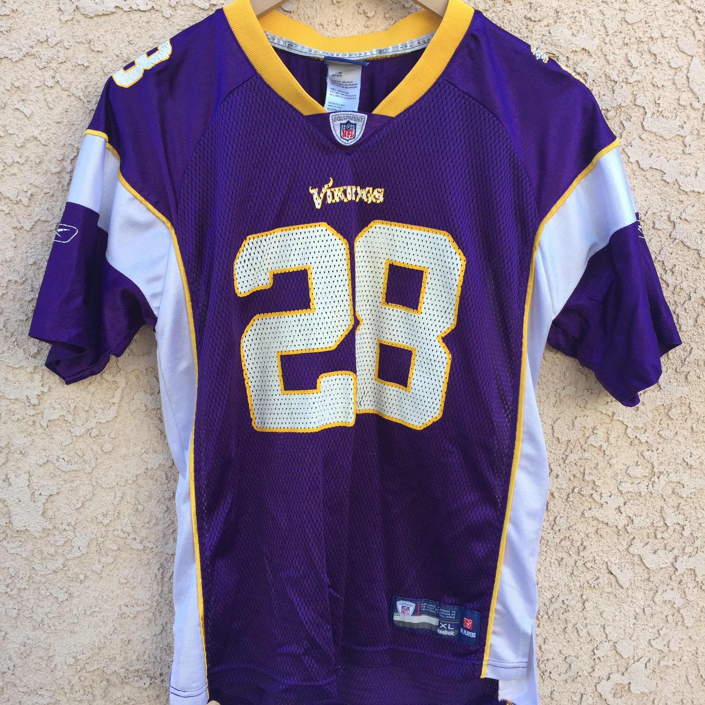finest selection fc4bc ecf2e Minnesota Vikings Adrian Peterson jersey. Size is... - Depop