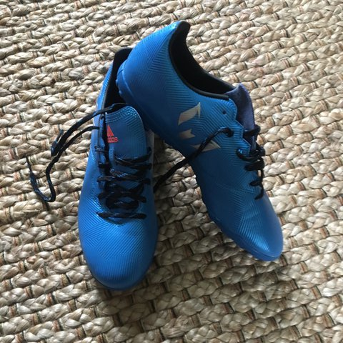 2c041e62edf Adidas messi astro turf boots. Size 7 UK. Worn once