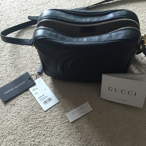 f71f8377a6397 More pictures of Gucci Soho Disco bag  cappertron - Depop
