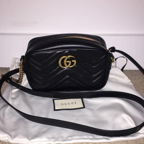 9de4dda2ac98 @steph283. last year. London, United Kingdom. COLLECTION ONLY FROM EAST  LONDON. Gucci GG Marmont Matelasse mini bag ...
