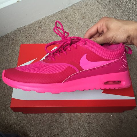 super popular cf7c8 65e4a  gorgeoussoph. 4 years ago. Cambridge, Cambridge, UK. Women s Nike Air Max  Thea trainers in pink.