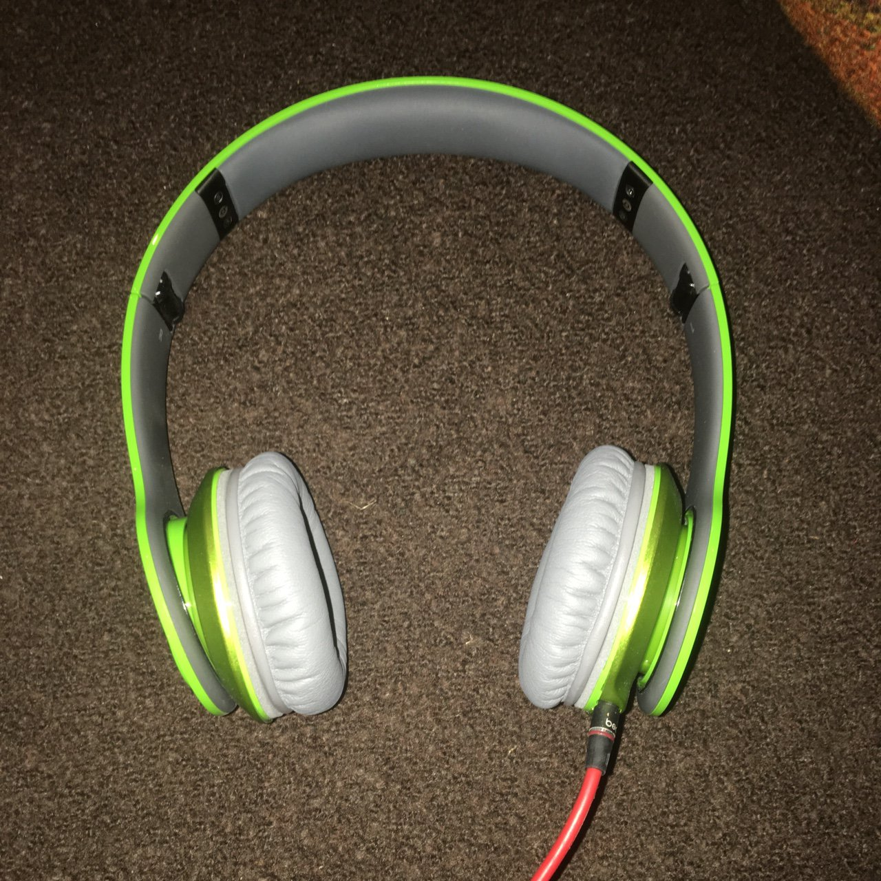 On Hold Lime Green Beats Price Firm Depop