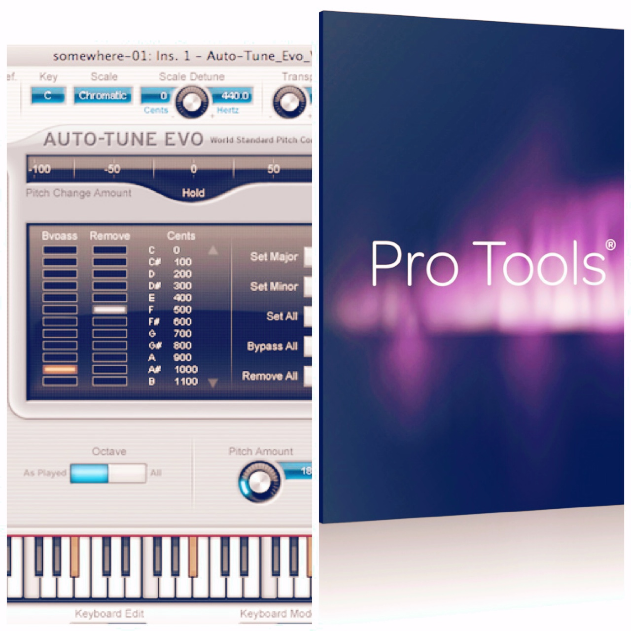 I have Avid Pro Tools 10 for Mac and Antares    - Depop