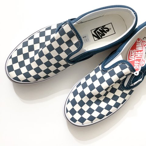 3f4c8bb639c1 New in Box. Vans Corsair True White Checkerboard Classic - Depop