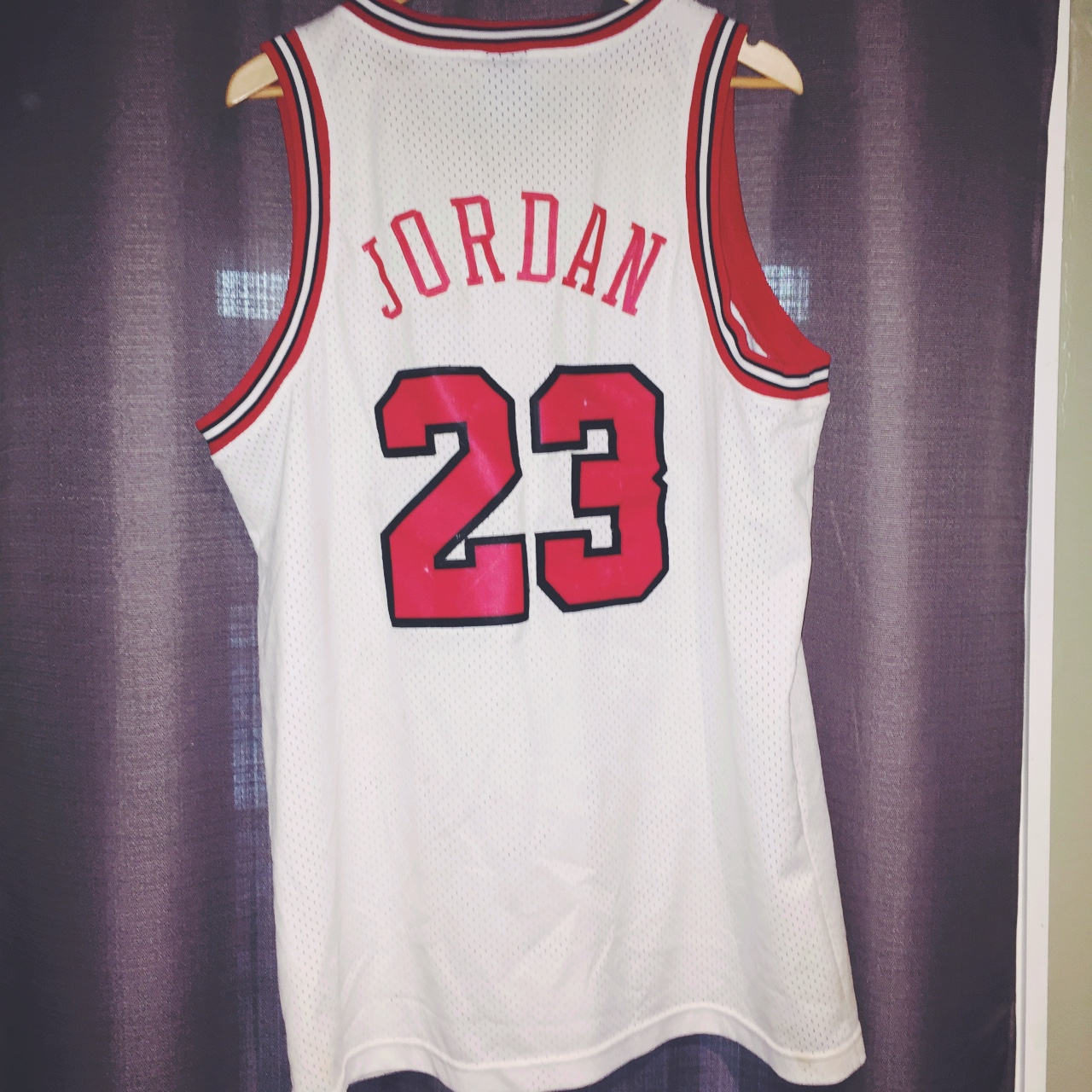 wholesale dealer ffebe ba9b4 Nike Team Flight 8403 Jordan jersey - Depop