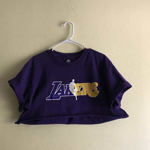 84f51e8d5695e Lakers Crop Top Welcome LeBron with this crop top!! In extra - Depop