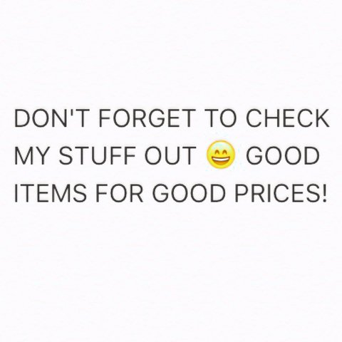 Good quality stuff at reasonable prices, with hardly Depop