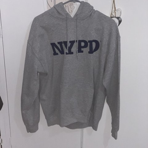 12b57523f @ellagxo. 5 days ago. Leigh, United Kingdom. Topshop NYPD grey hoodie.