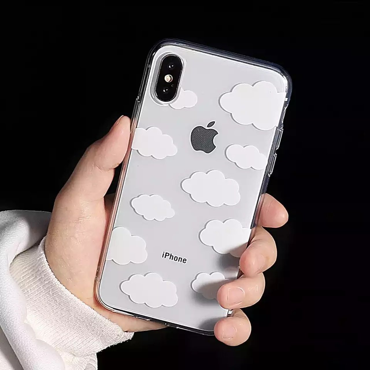 24bca062 Shoptagr | Cute Clouds Graphic Phone Cases For I Phone Girly Ultra ...