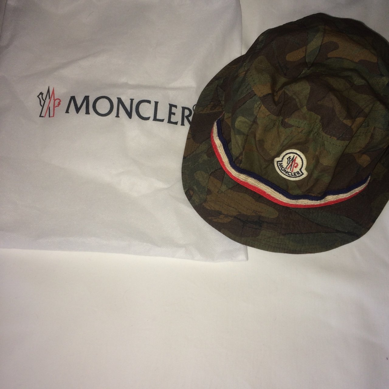 c008497a121 Moncler bucket hat 100% genuine. Only worn once. Bought for - Depop
