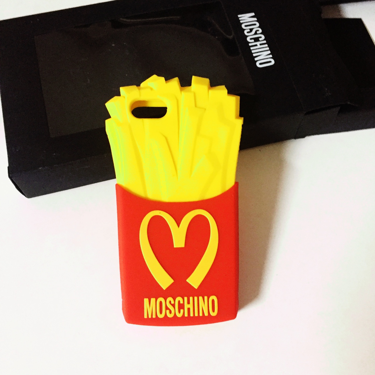 Moschino cover Per iPhone 5/5S/5C patatine fritte...