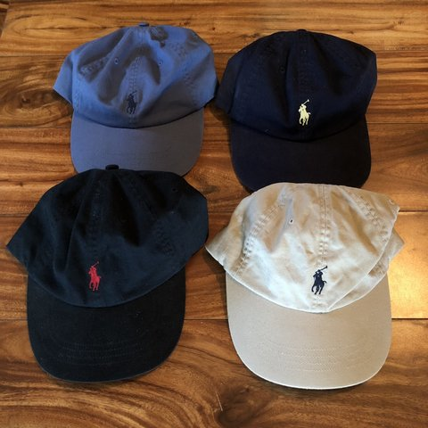 ac19d55f Polo hats all brand new never worn 10 each or 35 for all of - Depop