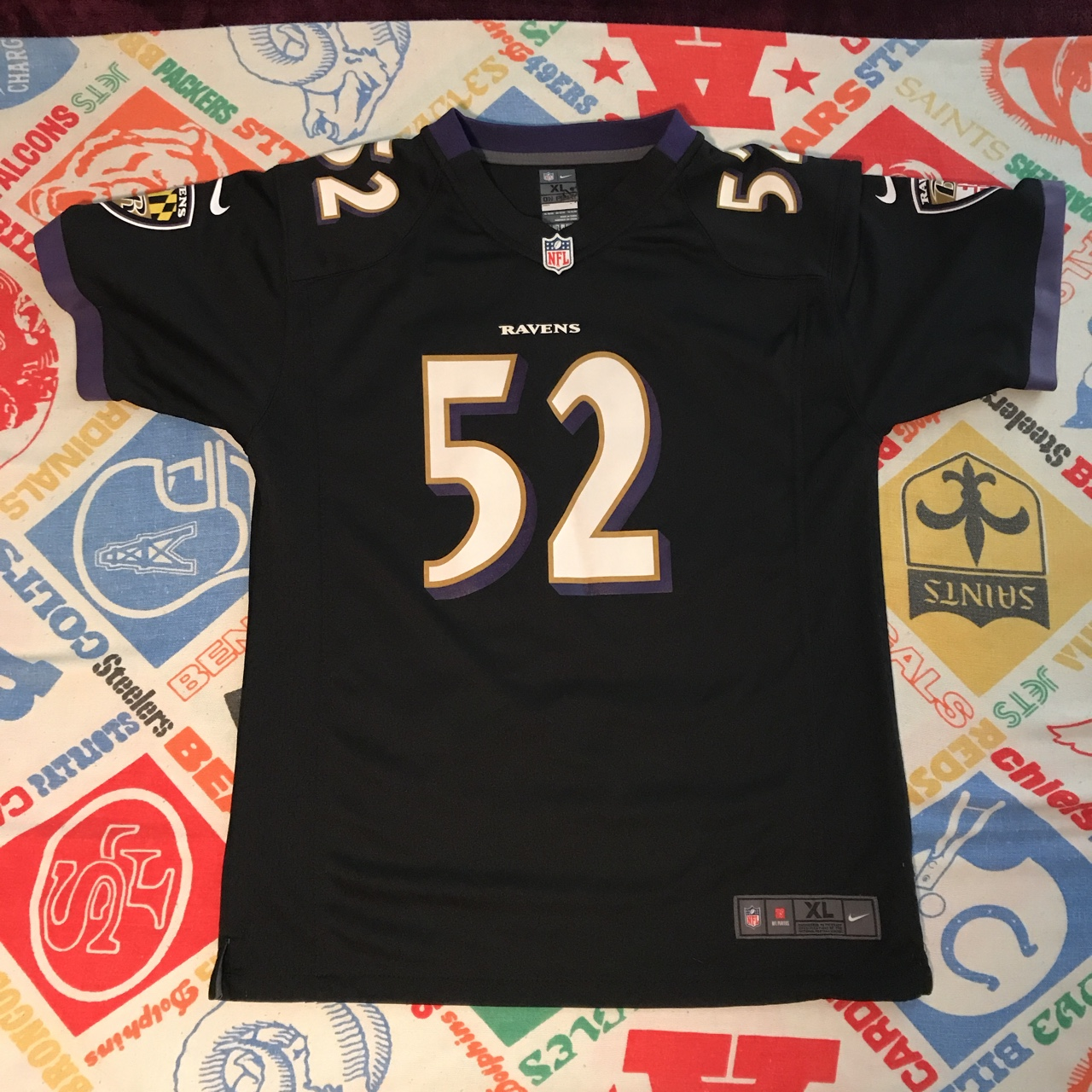 newest 826e2 160fe Nike Baltimore Ravens Ray Lewis jersey. Size Youth... - Depop