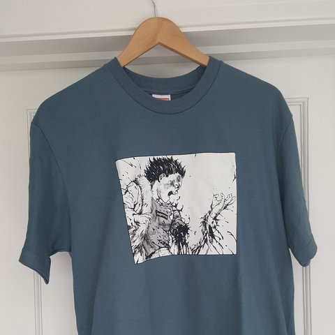 8eb0fd30723 SUPREME X AKIRA hand tee brand new medium open to  lv - Depop