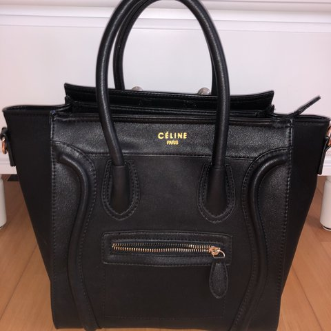 chimo. 4 months ago. Liechtenstein. Black Céline tote bag 🦋 Has a white  mark on the back. Make ... e5be098d41bee