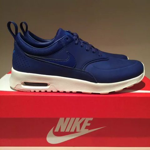 competitive price 924f2 34a1a  han231. 3 months ago. East Sussex, UK. Nike Air Max Thea Premium, Royal  Blue ...