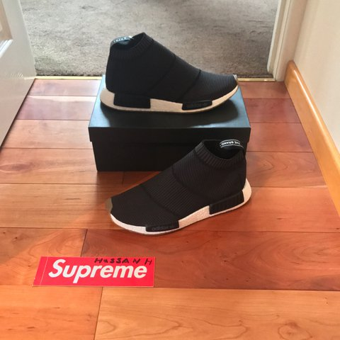 b1c335166 Adidas NMD city sock ➖black gum sole ➖ size uk 10 ➖ brand ➖ - Depop