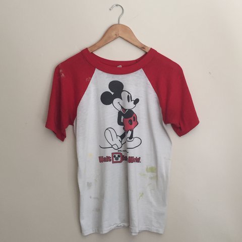 0c390c42 @thecamerakidd. 2 years ago. Long Beach, United States. Vintage 70's  Thrashed Mickey Mouse ...