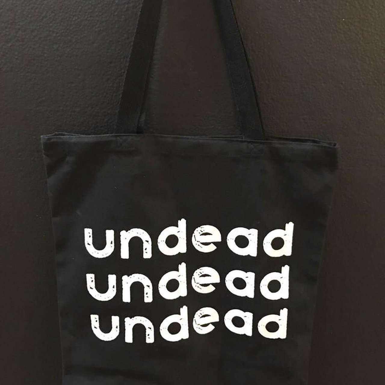 UNDEAD UNDEAD UNDEAD bauhaus tote bag by Nothing. UNDEAD or - Depop 523b6f9456343