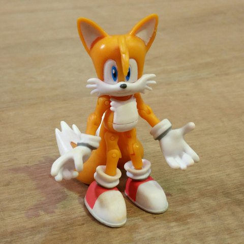 Tails From Sonic The Hedgehog Action Figure By Depop