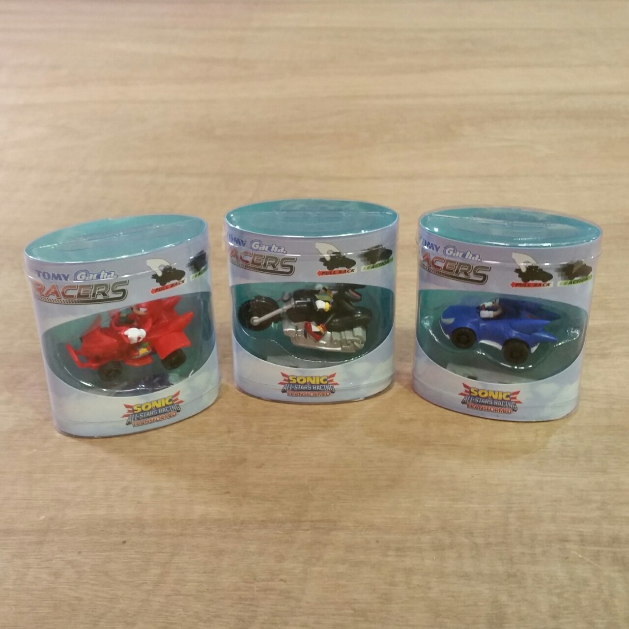 3 x Sonic All-Stars Racing Transformed Tomy Gacha    - Depop