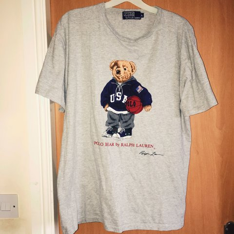 41e55e42811c7a @andyd94. 3 years ago. Manchester, UK. Ralph Lauren Polo Bear T shirt ...