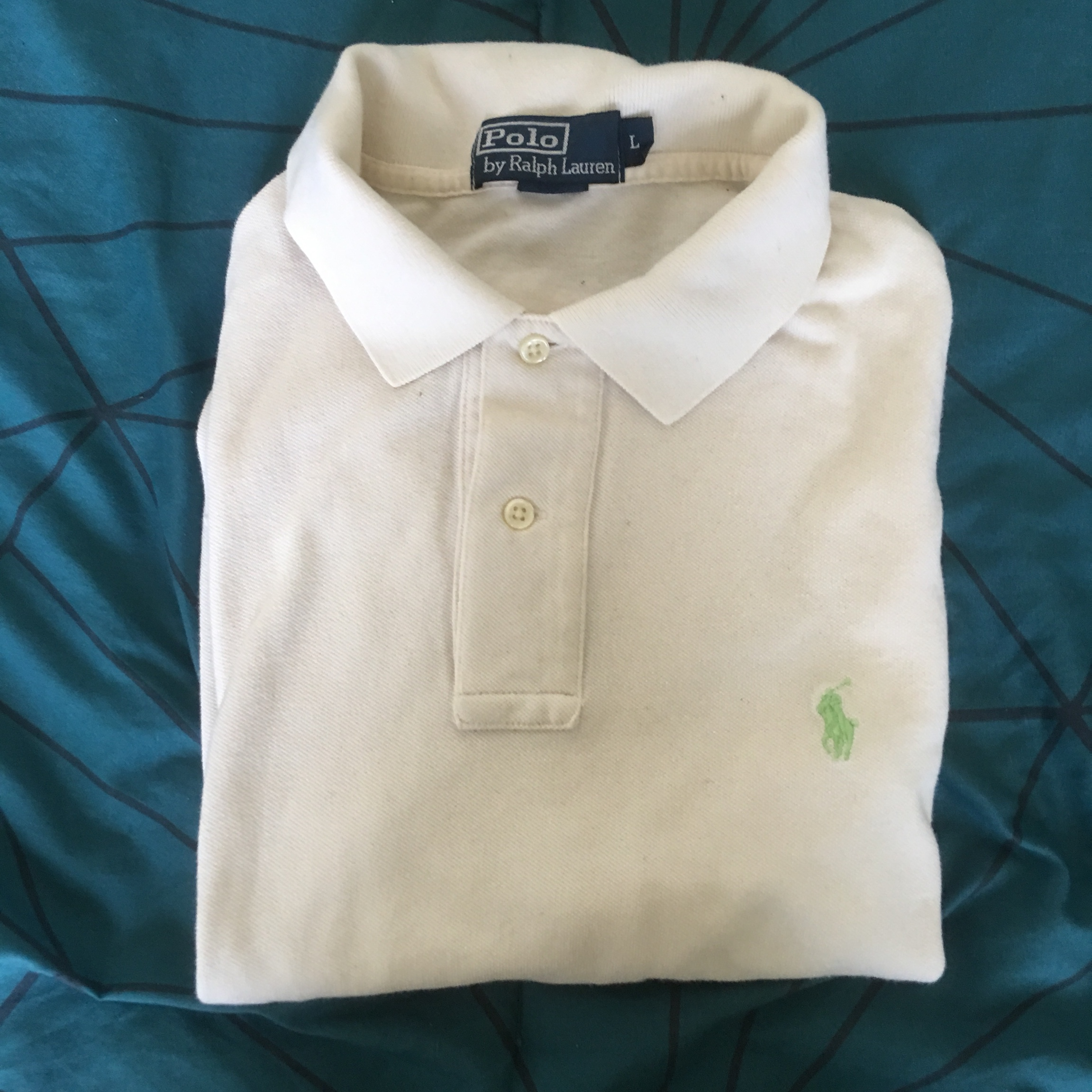 Polo Shirts Tan With Worn Ralph Lauren Depop Hardly N0ny8wmPvO