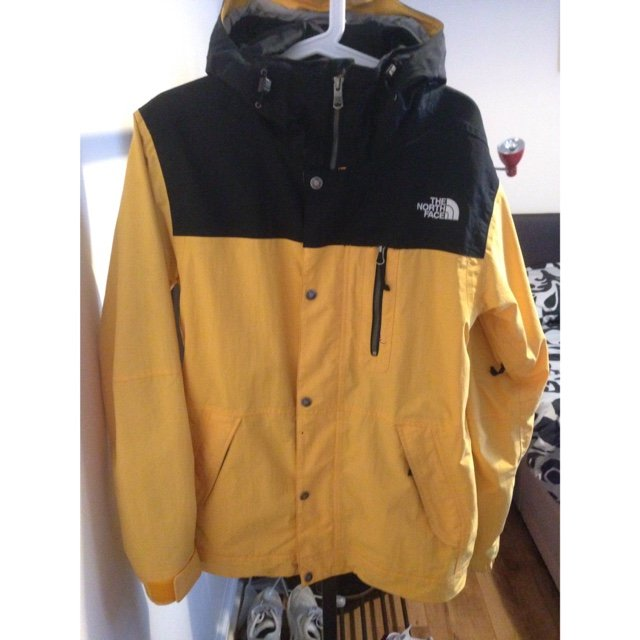 7c24904189 The North Face Pine Crest Snowsports Jacket (TNF Yellow) • A - Depop