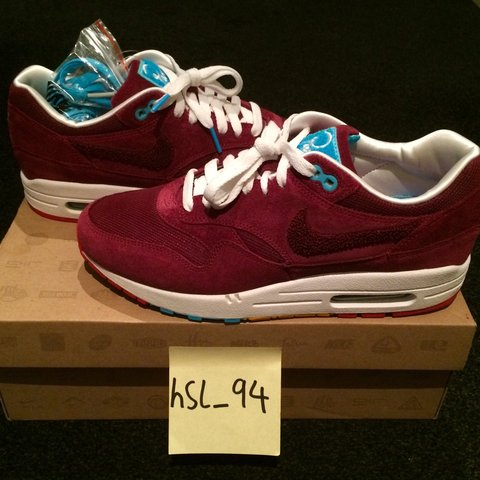 234546f65895ad ... get nike air max 1 patta x parra cherrywood 2010 brand new in depop  dbde1 98a85