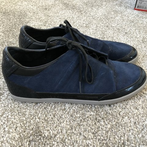 d890c2a793cfd Adidas Y-3 Yohji Yamamoto Trainers Full suede and rare no - Depop