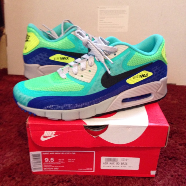 Nike air max 90 breeze city pack limited edition rio... - Depop